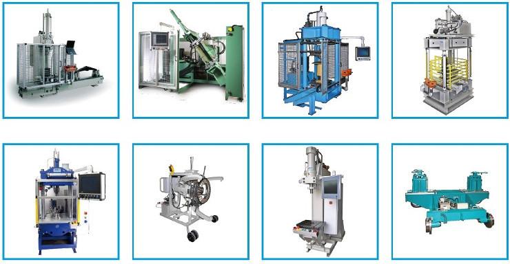 Neue Ulbrich Eisenbahn Broschüre: hydraulische Test- & Montage Maschinen