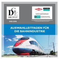 Neue Broschüre - Auswahlleitfaden für die Bahnindustrie